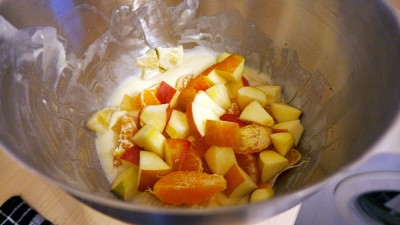 Apples (no need to peel them)...